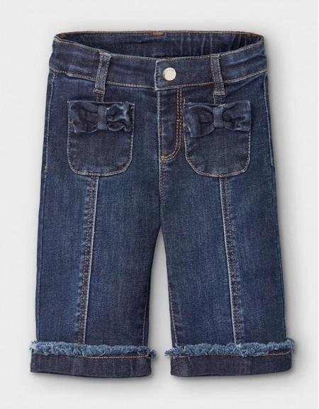 Denim Culotte Jeans