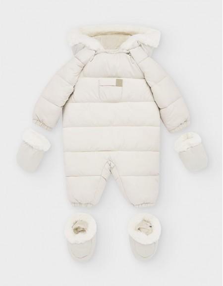 Beige Snowsuit
