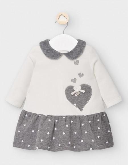 Moon Dress With Polka Dot Skirt