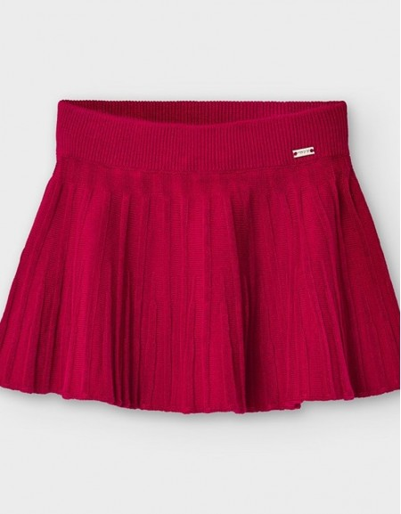 Carmine Re Pleated Knit Skirt