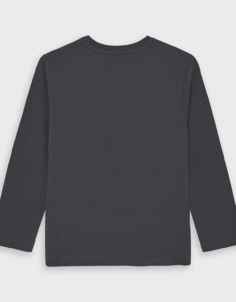 Graphite Long Sleeved Car T-Shirt
