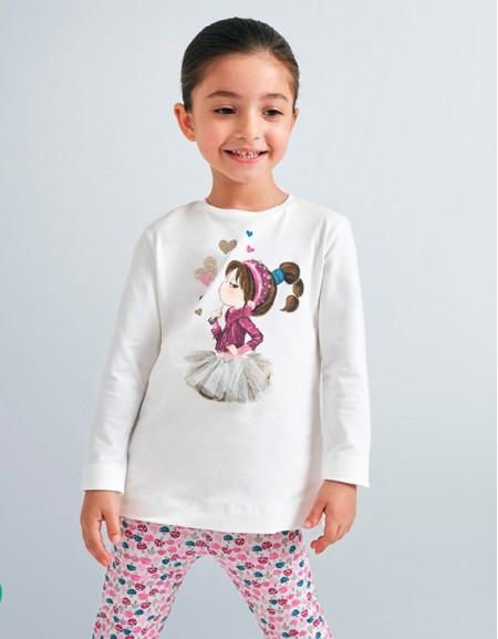 Nadural-Ni Long Sleved T Shirt With Design