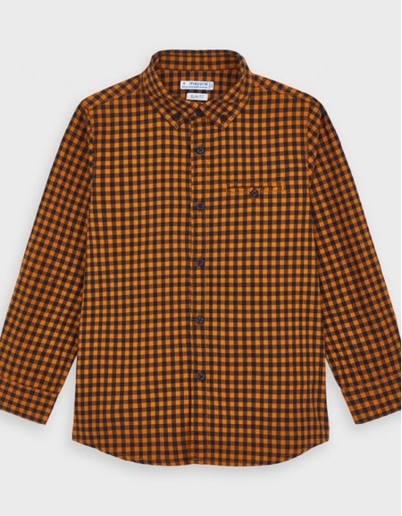 Cheddar Long Sleve Vichy Shirt