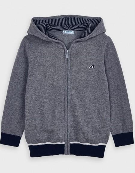 Fog Jacquard Knitting Pullover S
