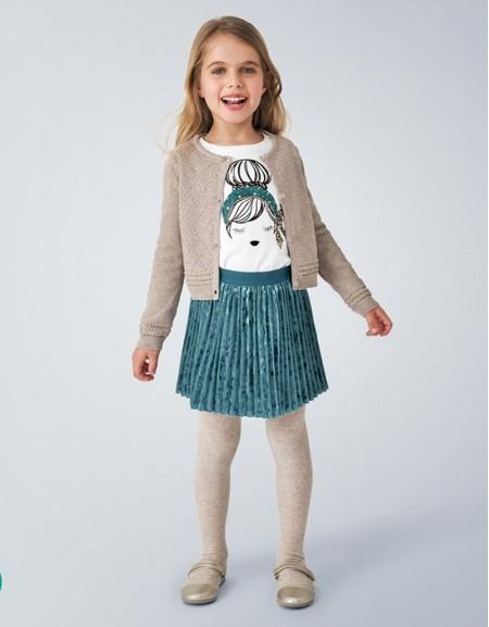 Mole Structured Knit Cardigan Blush