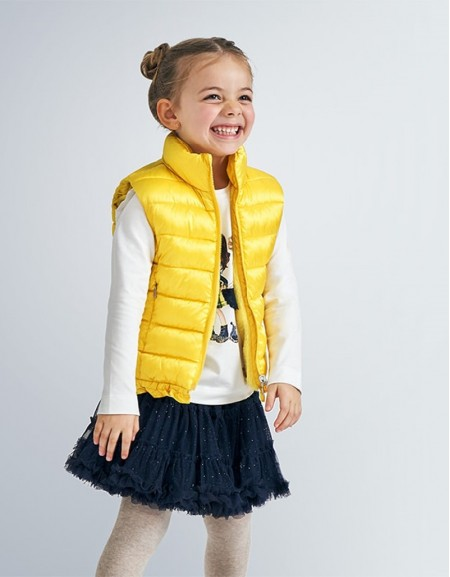 Yellow Mayoral Reversible Gilet Old Gold
