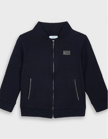 Navy Mayoral Jacket Without Hood Formal