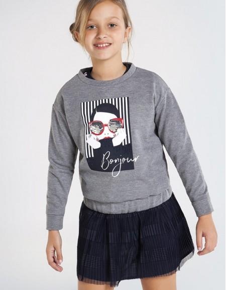 Steel Fleece Sweatshirt