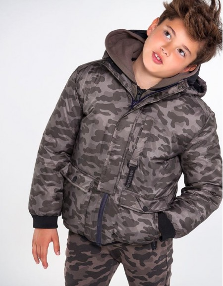 Truffle Camouflage Jacket