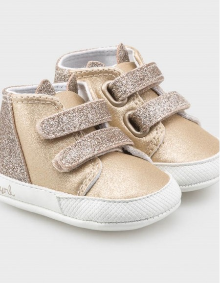 Golden Sporty Trainers