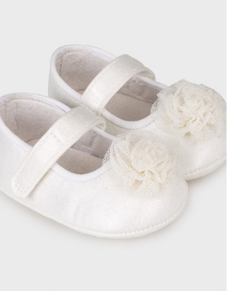 Natural Mary Jane Shoes L