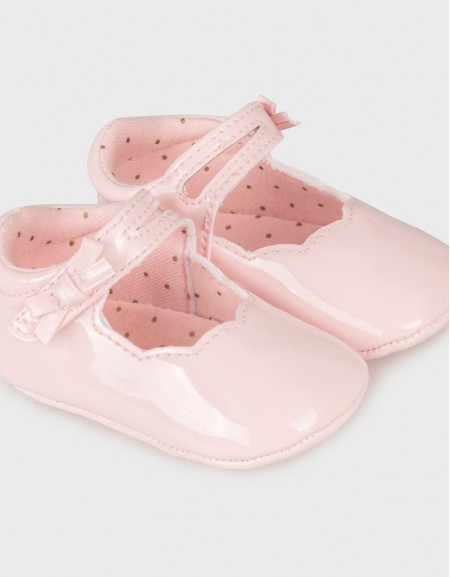 Baby Rose Patent Mary Jane Shoes