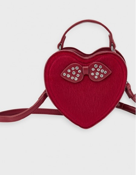 Carmine Re Heart Bag