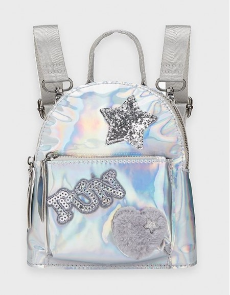 Silver Fantasy Backpack