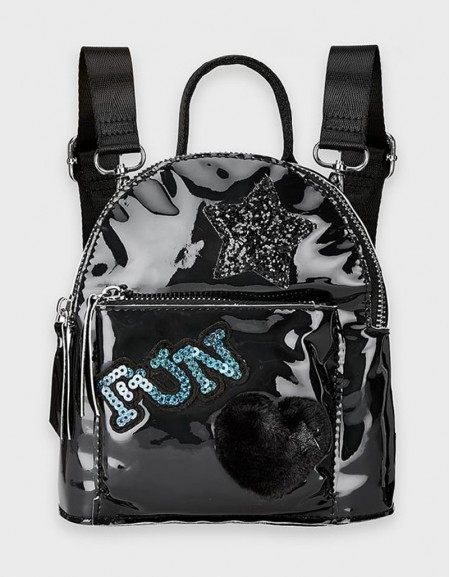 Black Fantasy Backpack