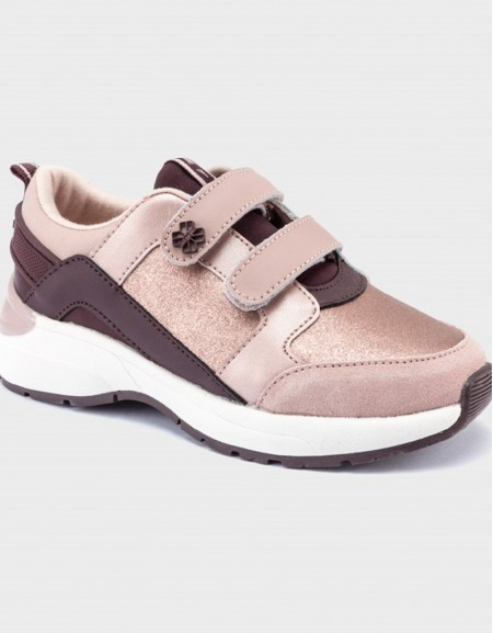 Rose Contrast Trainers