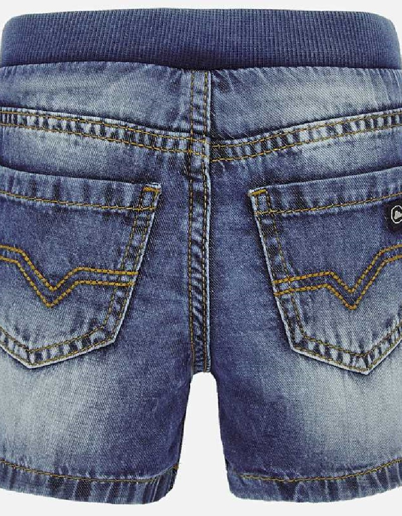 Basic Basic denim bermuda shorts