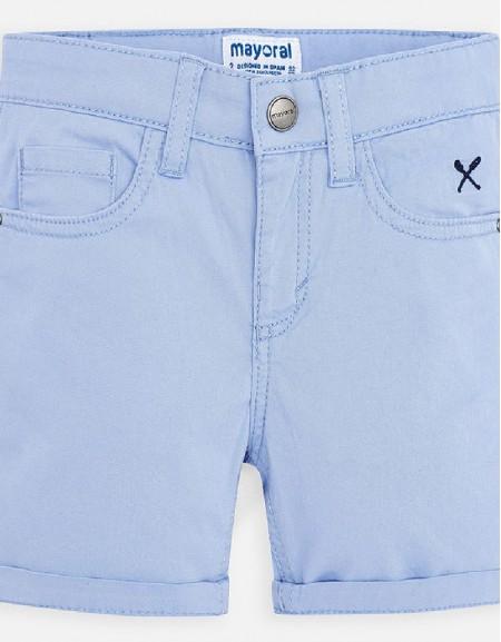 Lavender Basic 5 pockets twill shorts