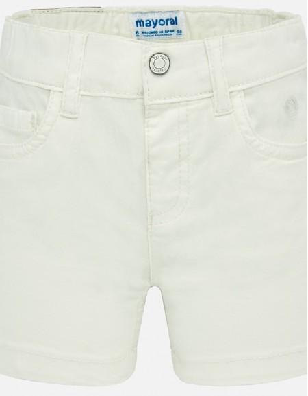 Natural Basic 5 pockets twill shorts