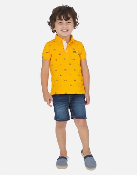 Dark Denim basic 5 pocket shorts