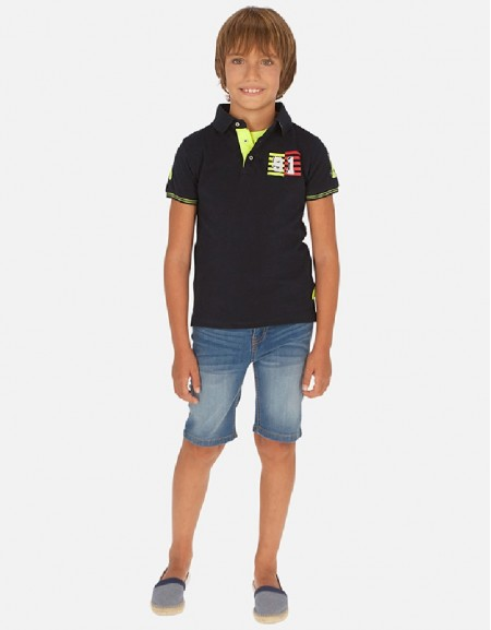 Basic Basic denim shorts