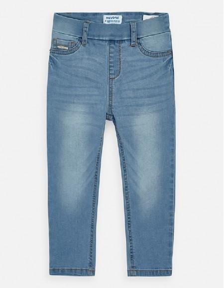 Bleached Basic denim pants