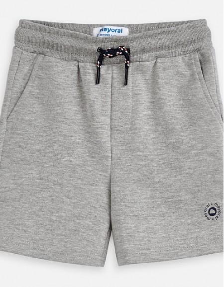 Smoke Basic fleece shorts