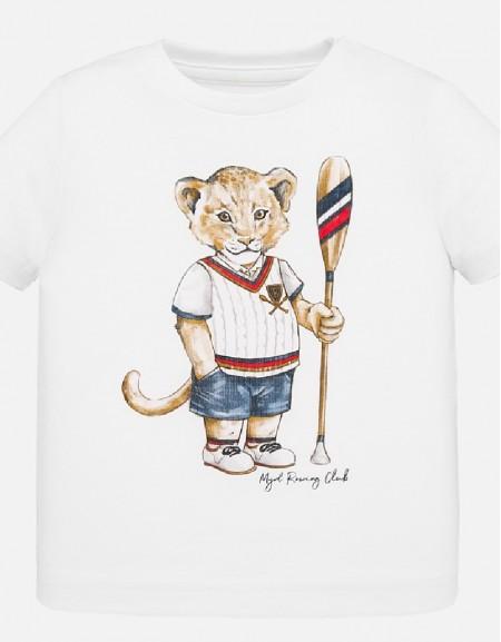 White Animal t-shirt s/s