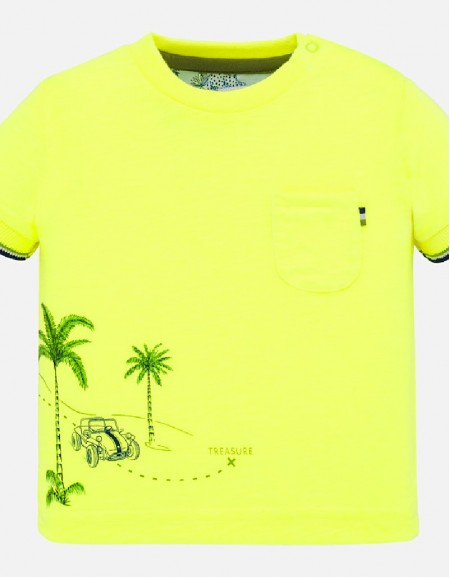 Neon-Limon Positioned t-shirt s/s