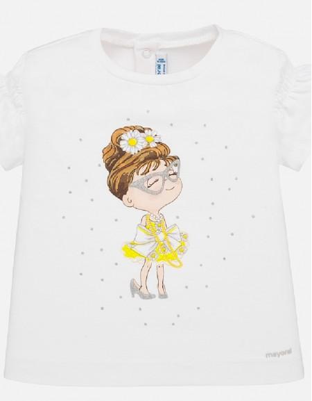 White Yell S/s t-shirt
