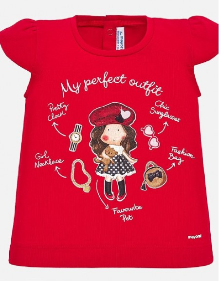 Red S/s t-shirt