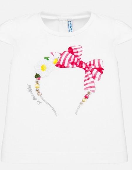 White S/s t-shirt