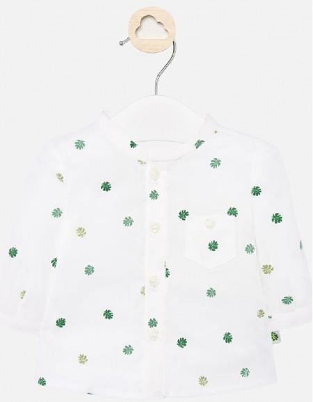 Amazon L/s mao collar shirt