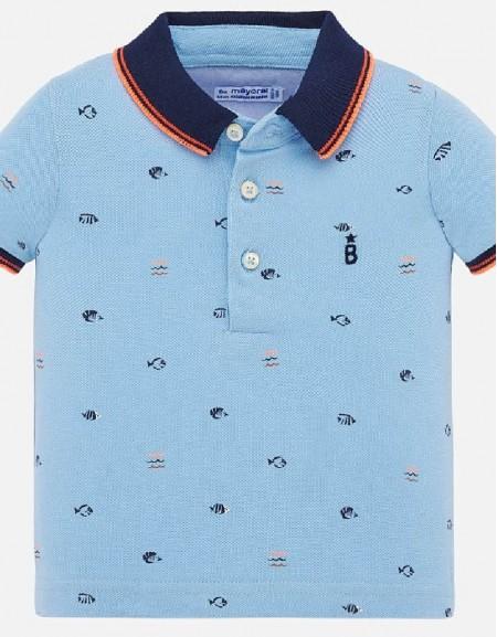 Sky S/s small print t-shirt