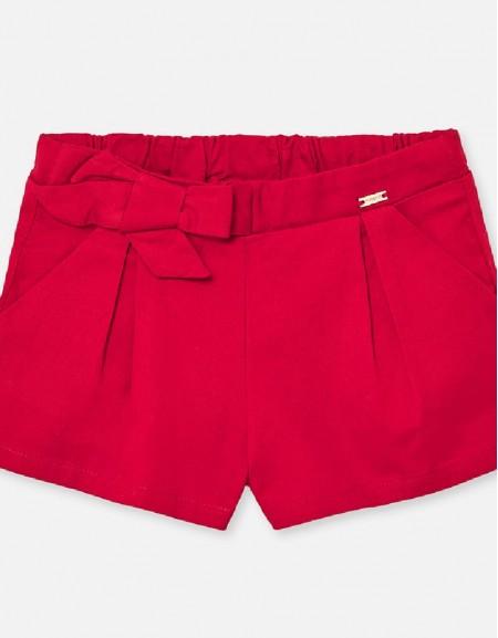 Red Satin shorts