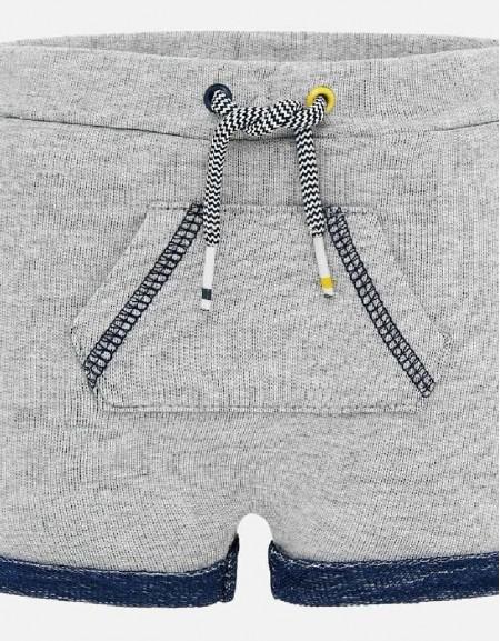 Dark Blue Fleece shorts