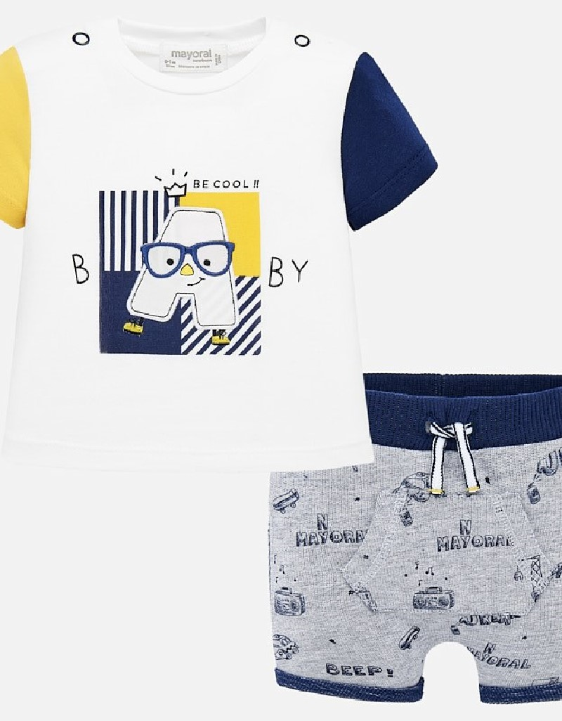 Pineapple Short trousers set