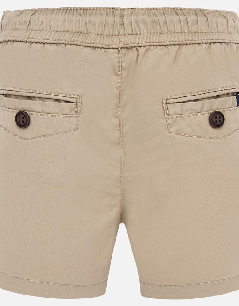Ocher Chino shorts with pockets