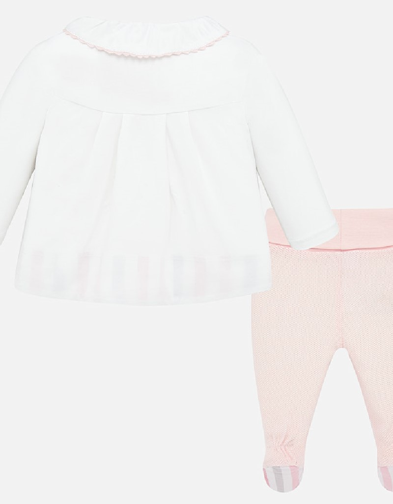 Baby Rose Fantasy dot footed trousers se