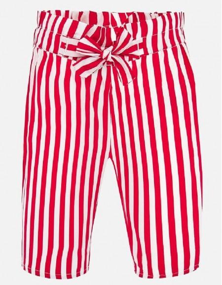 Red Poplin trousers