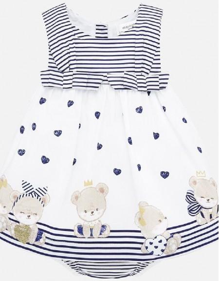 Nautical Poplin valance dress