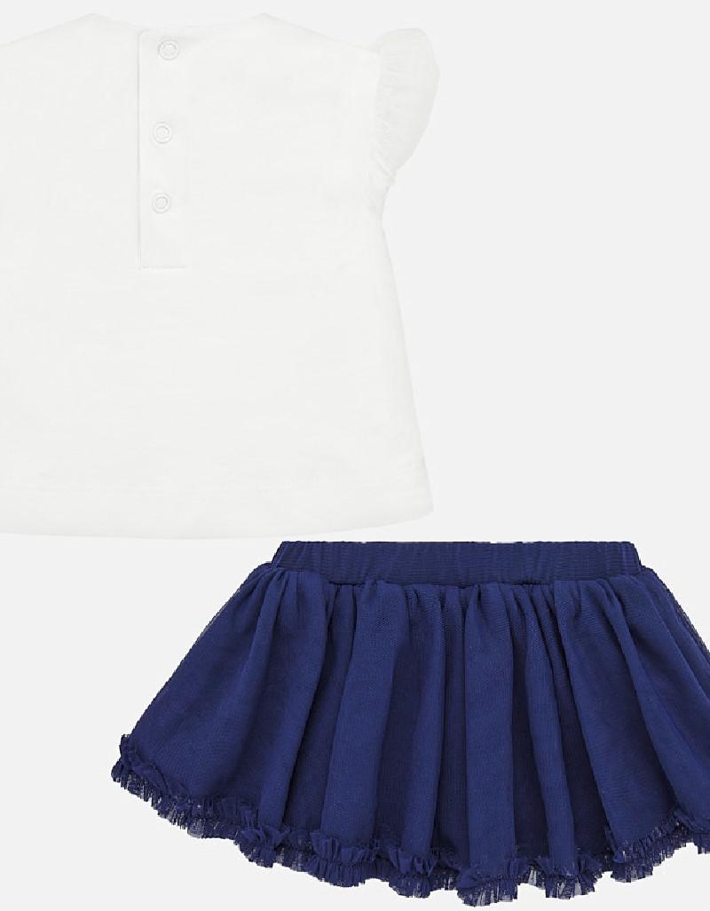 Nautical Skirt and diadem set
