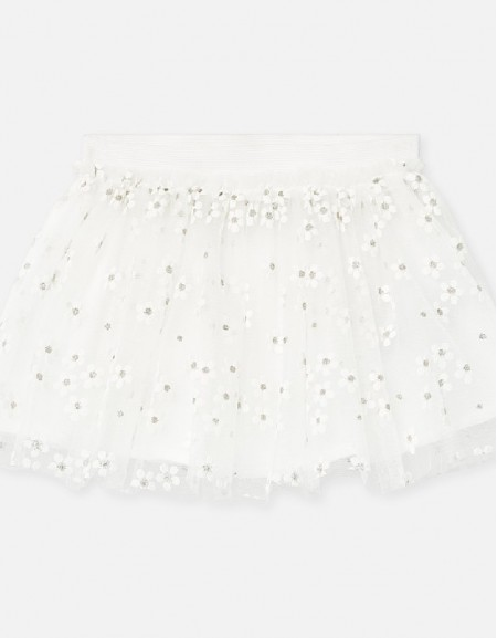 Natural Tulle skirt