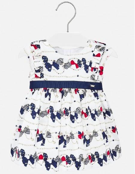 Navy Poplin dress