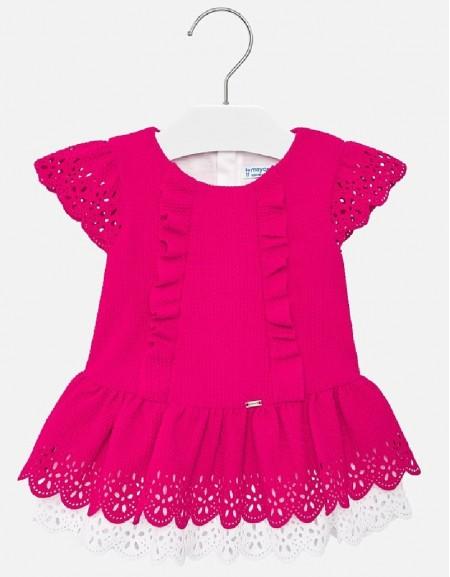 Strawberry Pique knit dress