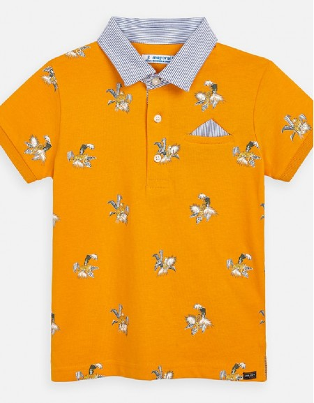 Sunflower Polo s/s stamped tigers