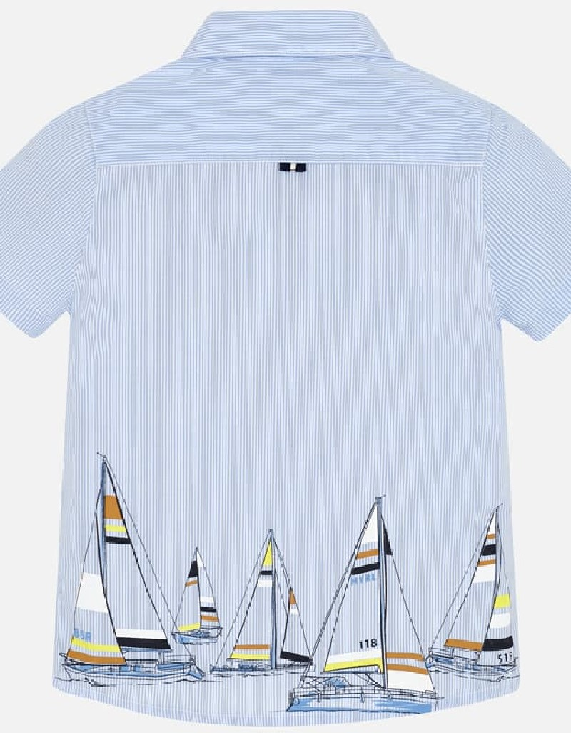 Lightblue S/s shirt