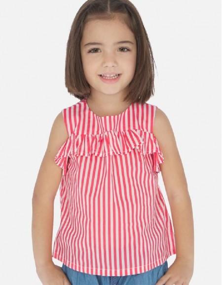 Watermelon Stripes loose shirt