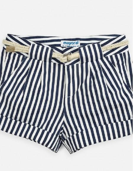 Navy Stripes shorts