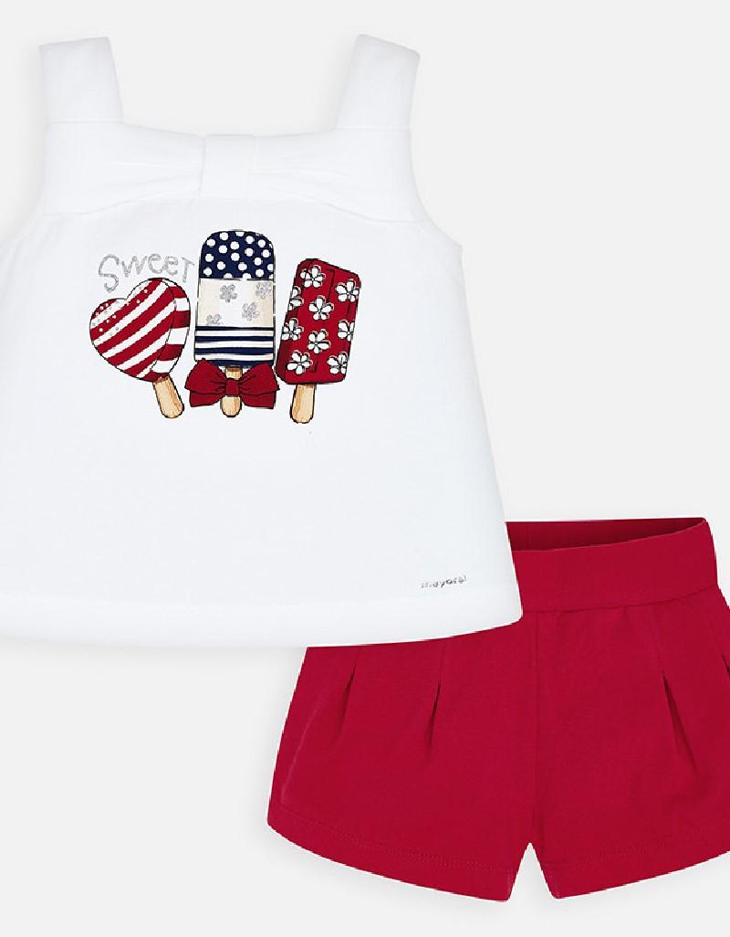 Red Short set